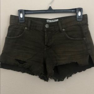 Free People shorts. Size 24.